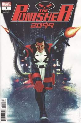 The Punisher 2099 (Variant Cover) #1.1