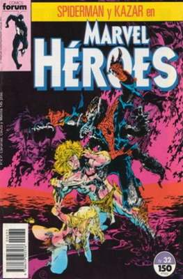 Marvel Héroes (1986-1993) (Grapa 32 pp) #32