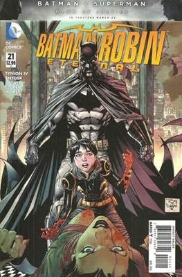 Batman and Robin Eternal (2015-2016) (Saddle-stitched) #21
