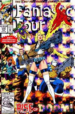 Fantastic Four Vol. 1 (1961-1996) (saddle-stitched) #375