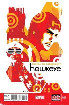 Hawkeye (Vol. 4 2012-2015) (Comic-Book) #21