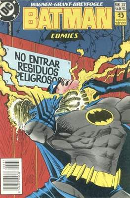 Batman (1987-1993) (Grapa) #37