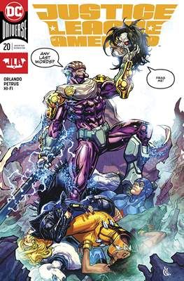 Justice League of America vol. 5 (2017-2018) (Grapa) #20