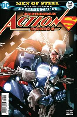 Action Comics Vol. 1 (1938-2011; 2016-) (Comic Book) #968
