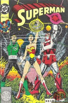 Supermán (1986-2001) (Grapa) #213