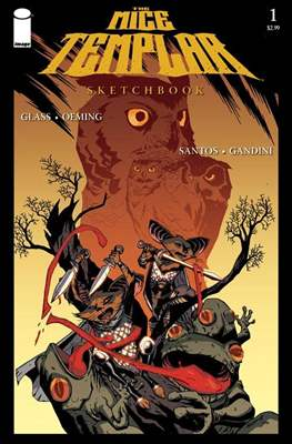 The Mice Templar Sketchbook (Grapa) #1