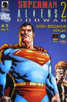 Superman / Aliens 2 Godwar (Grapa) #3