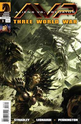Aliens vs Predator: Three World War (Comic Book) #3