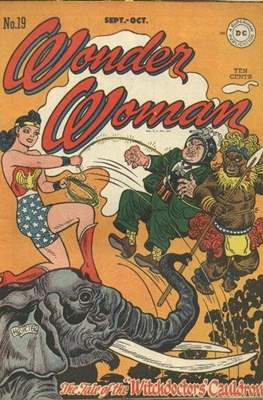 Wonder Woman Vol. 1 (1942-1986; 2020-) #19