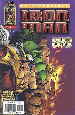 Heroes Reborn: Iron Man (1997-1998) (Grapa 24 pp) #6