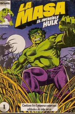 La Masa. El Increíble Hulk (Retapado 1ª Etapa. 180 páginas) #1
