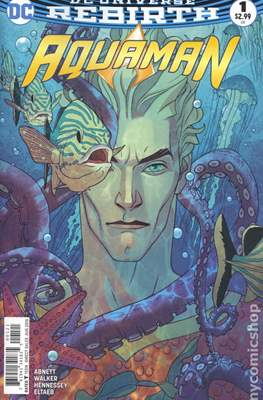 Aquaman Vol. 8 (2016-2021) Variant Cover) #1