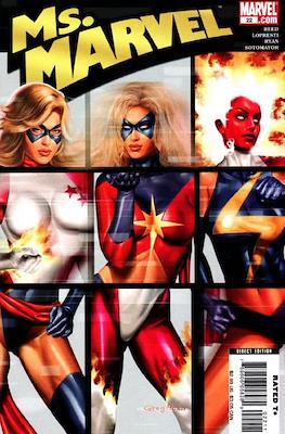 Ms. Marvel (Vol. 2 2006-2010) (Comic Book) #22