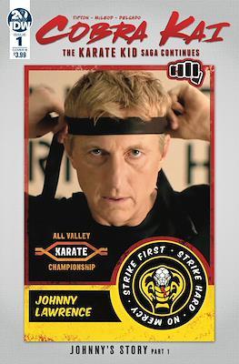 Cobra Kai. The Karate Kid Saga Continues (Variant Cover)