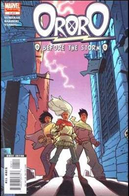 Ororo: Before The Storm (Comic Book) #4
