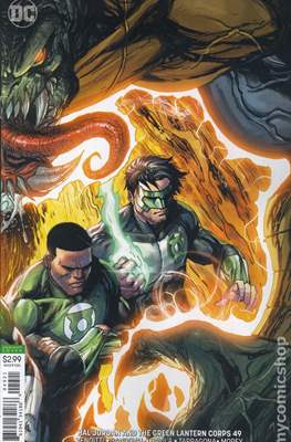 Hal Jordan and the Green Lantern Corps (Vol. 1 2016-2018 Variant Cover) (Comic Book) #49
