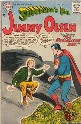 Superman's Pal, Jimmy Olsen / The Superman Family (Comic Book) #17