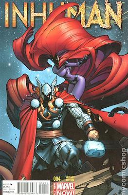 Inhuman (2014-2015 Variant Cover) (Comic Book) #4