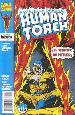 Saga de la original Human Torch #3