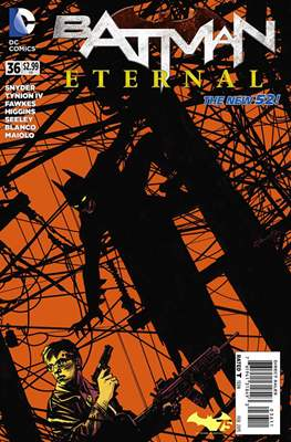 Batman Eternal (2014-2015) (Comic-Book) #36