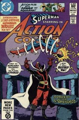 Action Comics Vol. 1 (1938-2011; 2016-) (Comic Book) #527