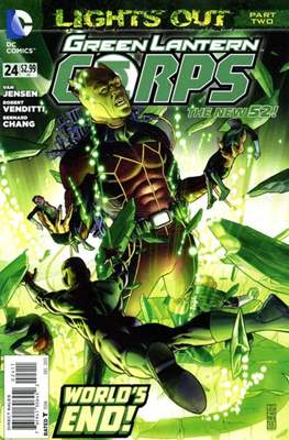 Green Lantern Corps Vol. 3 (2011-2015) (Comic-Book) #24