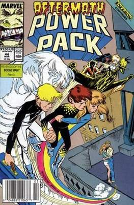Power Pack (1984-1991; 2017) (Grapa) #44