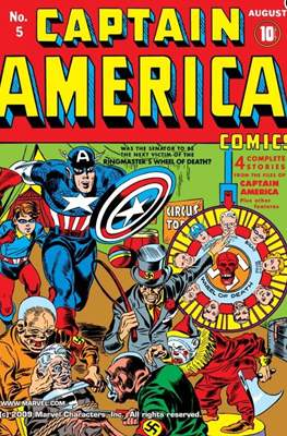 Captain America: Comics #5