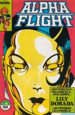 Alpha Flight Vol. 1 / Marvel Two-in-one: Alpha Flight & La Masa Vol.1 (1985-1992) (Grapa 32-64 pp) #15