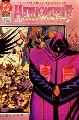 Hawkworld (Comic Book) #24