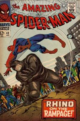 The Amazing Spider-Man Vol. 1 (1963-2007) (Comic-book) #43