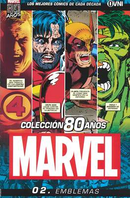 Coleccion Marvel 80 Años (Grapa) #2