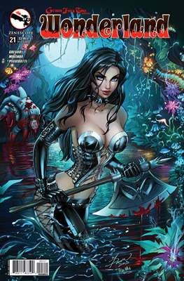 Grimm Fairy Tales presents Wonderland (Comic Book) #21