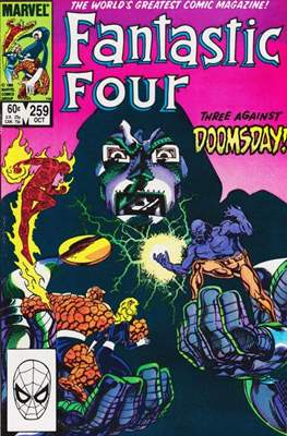 Fantastic Four Vol. 1 (1961-1996) (saddle-stitched) #259