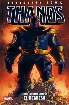 Thanos. Colección 100% Marvel HC (Cartoné 160-144 pp) #1