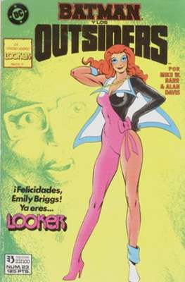 Batman y los Outsiders / Los Outsiders (1986-1988) (Grapa, 34 páginas) #23