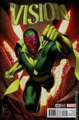 The Vision Vol. 3 (Variant Cover) (Comic Book) #8