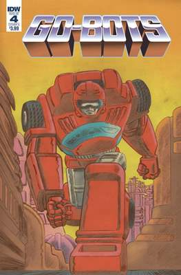 Go-Bots (Comic Book) #4