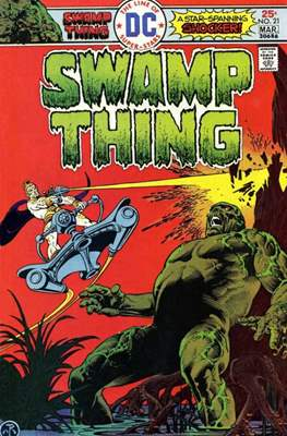 Swamp Thing (1972 1st Series) (Comic Book. 1972 - 1976) #21