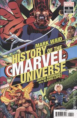 History of the Marvel Universe (Variant Cover) (Comic Book) #1