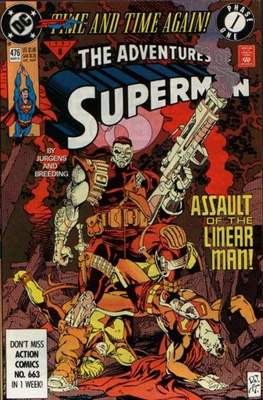 #452 Adventures of Superman Vol 1 1939-2011