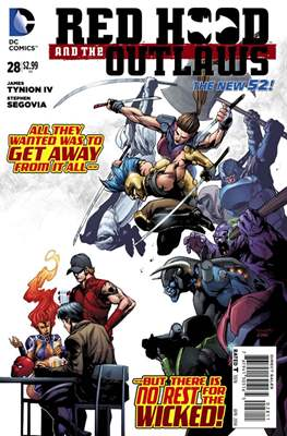 Red Hood and the Outlaws (2011-) New 52 (Comic-Book) #28