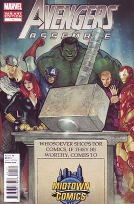 Avengers Assemble Vol. 2 (2012-2014 Variant Cover) (Comic Book) #1.5