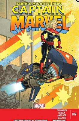 Captain Marvel Vol. 7 (2012-2014) (Comic-Book) #12