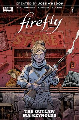 Firefly: The Outlaw Ma Reynolds
