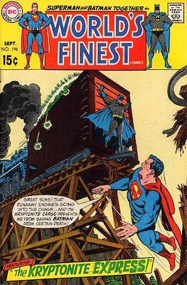 World's Finest Comics (1941-1986) (Comic Book) #196