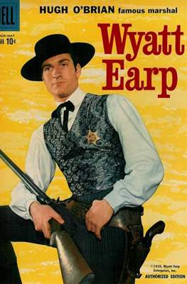 Hugh O'Brian Famous Marshal Wyatt Earp (Comic Book) #6