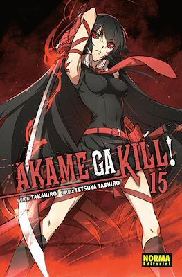 Akame ga Kill! (Rústica con sobrecubierta) #15