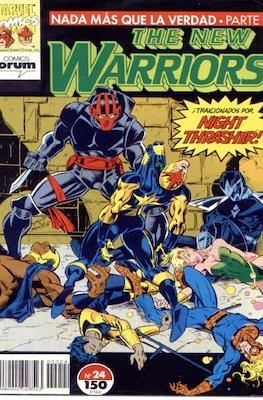 The New Warriors vol. 1 (1991-1995) (Grapa. 17x26. 24 páginas. Color. (1991-1995).) #24