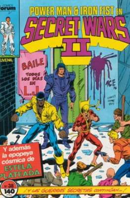 Secret Wars (1985-1987) (Grapa 32 pp) #38